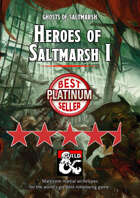 Heroes of Saltmarsh I - martial archetypes for 5th Edition