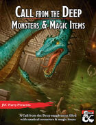 Call from the Deep: Monsters & Magic Items