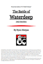 The Battle of Waterdeep