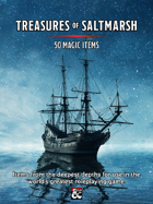 50 Magic Items - Treasures of Saltmarsh