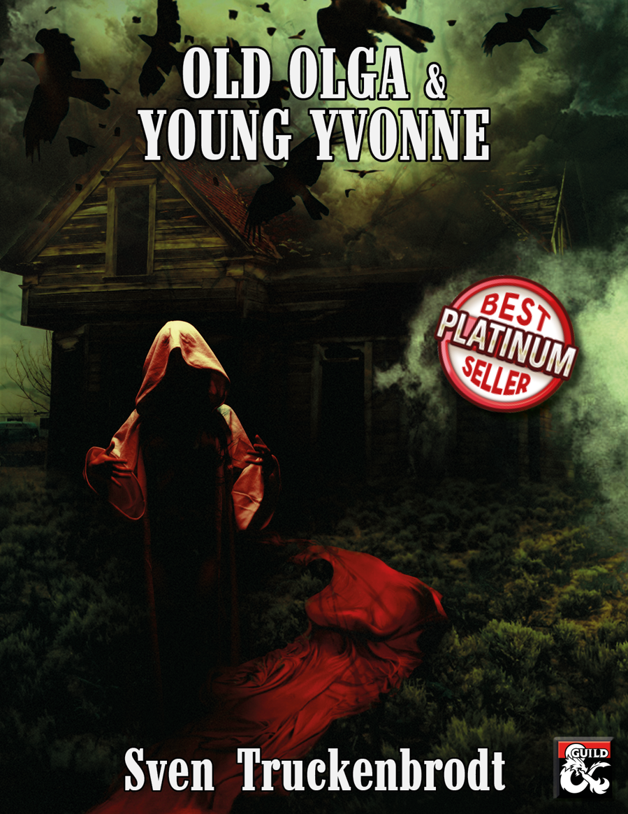 Cover of Old Olga and Young Yvonne