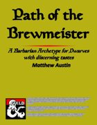 Path of the Brewmeister