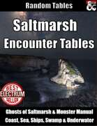Table Rolls - Saltmarsh Encounter Tables