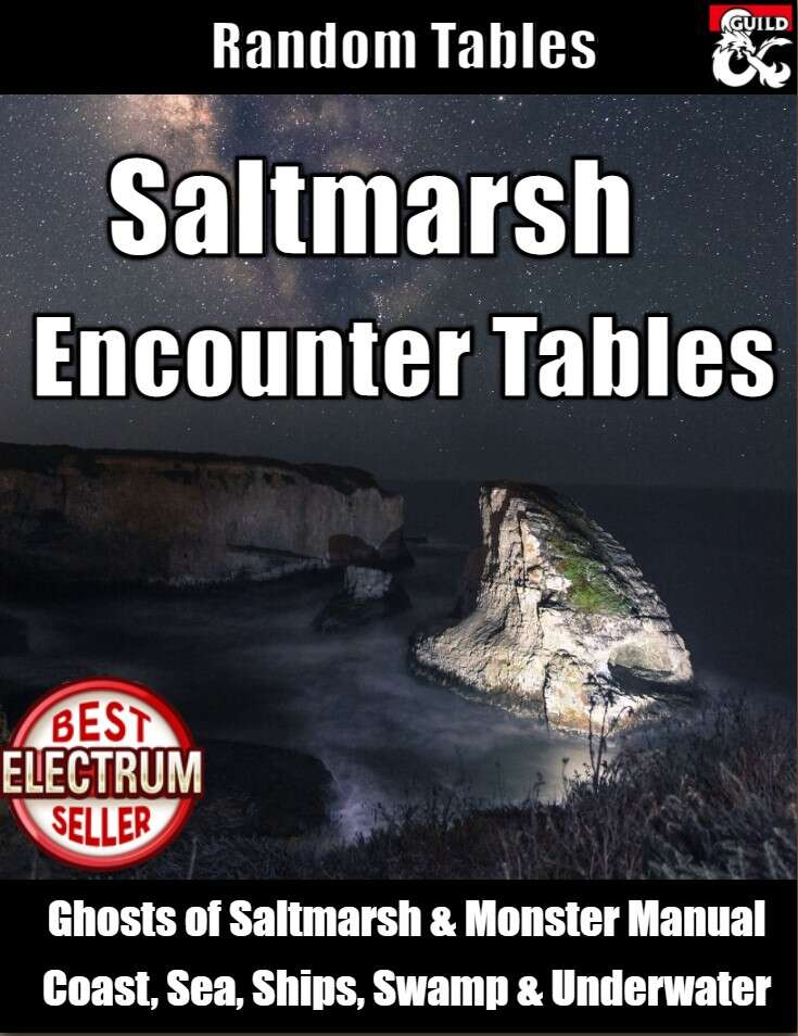Saltmarsh Encounter Tables
