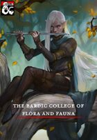 Bardic College of Flora and Fauna