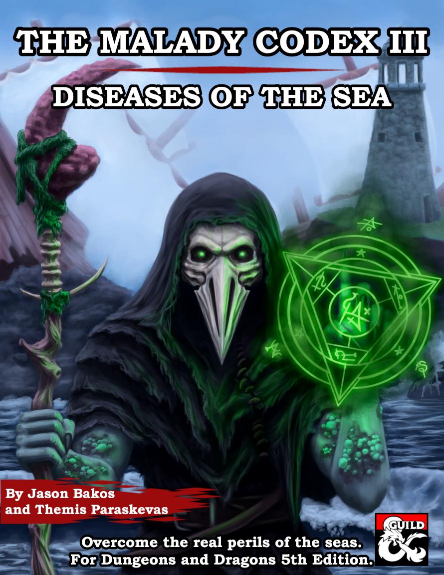 The Malady Codex III: Diseases of the Sea - Dungeon Masters Guild   Dungeon  Masters Guild