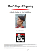 The College of Puppetry