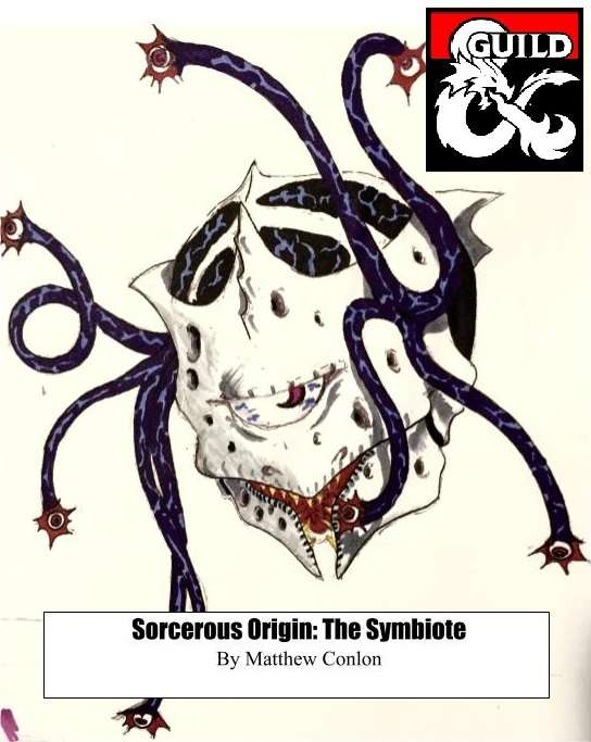 Sorcerous Origin: The Symbiote - Dungeon Masters Guild | Dungeon Masters  Guild