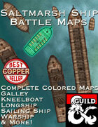 Saltmarsh Boat Battle Maps