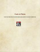 Item-Cape of Pride