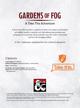 Gardens of Fog
