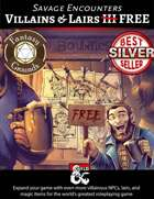 Villains & Lairs III FREE (Fantasy Grounds)