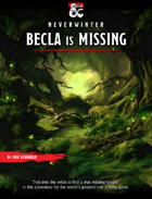 Becla is Missing