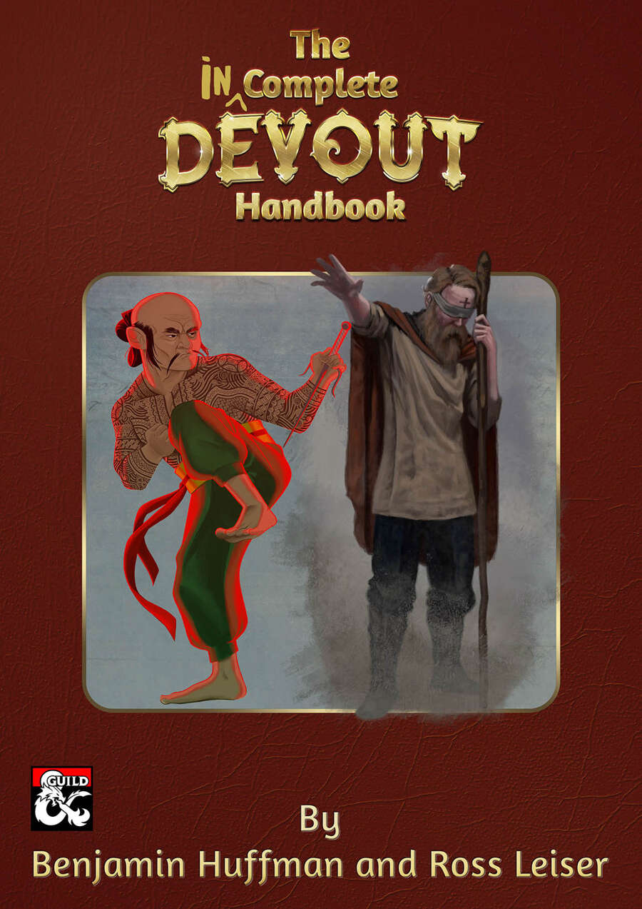 The Incomplete Devout Handbook - Dungeon Masters Guild