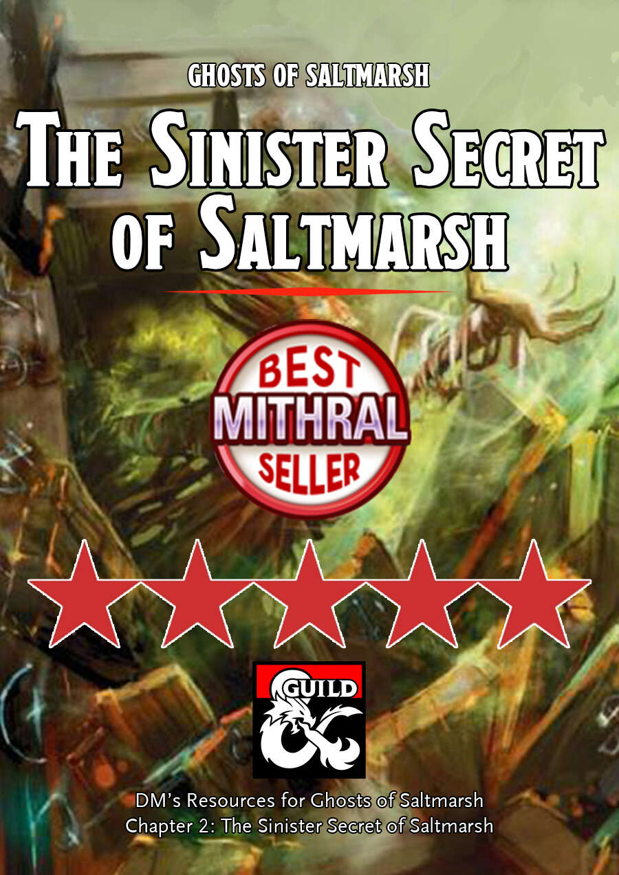 The Sinister Secret of Saltmarsh