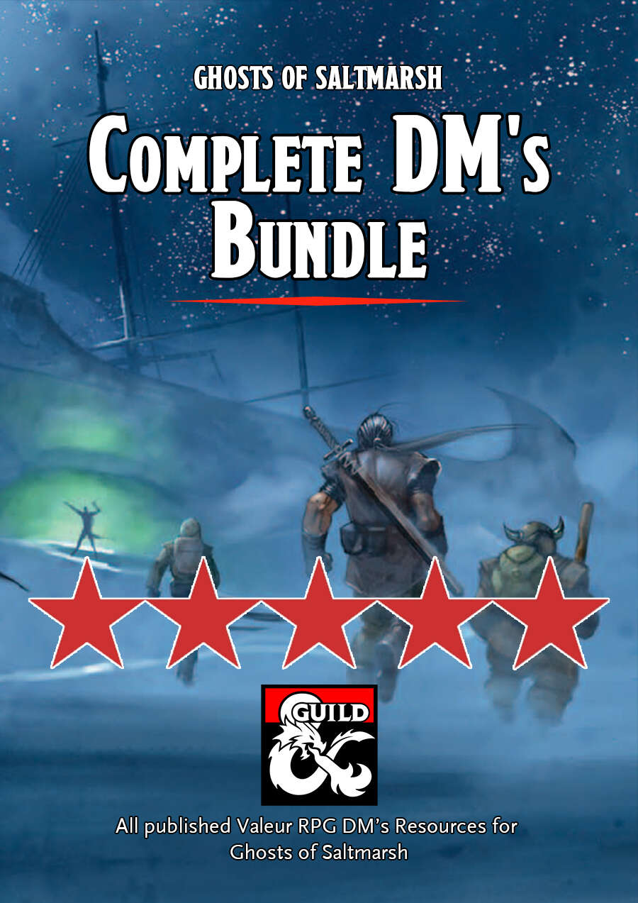 Ghosts of Saltmarsh Complete DM's Bundle