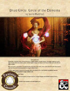Druid Circle: Circle of the Elements (Fantasy Grounds)