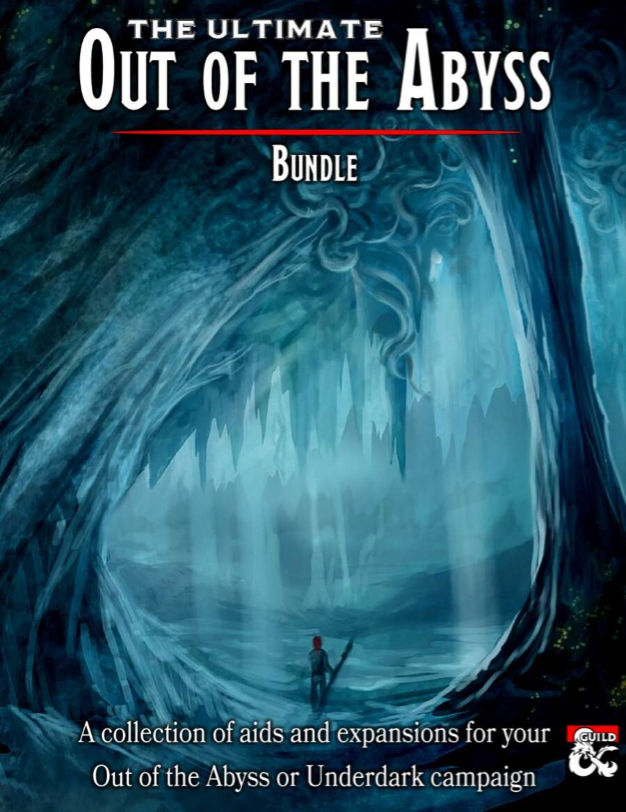 The Ultimate Out of the Abyss [BUNDLE] - Dungeon Masters Guild | Dungeon  Masters Guild