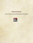 Item-Freedom Rings