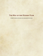 Way of the Hidden Flow