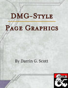 Dungeon Master's Guide-Style Page Background and Graphics