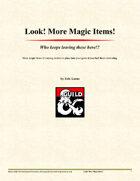 Look! More Magic Items!
