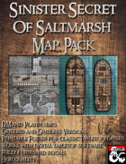 Ghosts of Saltmarsh: Sinister Secret of Saltmarsh Map Pack