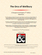 The Orcs of Wellbury