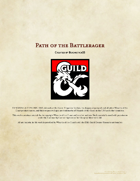 Path of the Battlerager