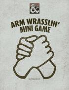 Arm Wrestling Mini Game