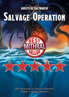 Salvage Operation – a Ghosts of Saltmarsh DM's Resources
