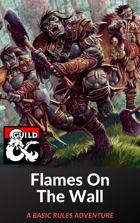 Flames on the Wall - A Basic Rules Adventure