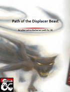Barbarian: Path of the Displacer Beast