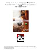 Extraplanar Adventurer's Handbook