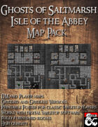Ghosts of Saltmarsh: Isle of the Abbey Map Pack