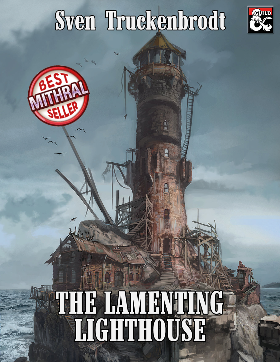 Cover of The Lamenting Lighthouse