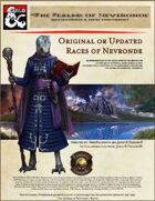 The Realms of Nevronde - Races