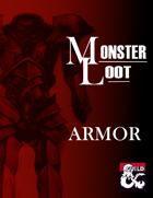 Monster Loot: Armor (5e)