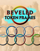 Beveled Token Frames