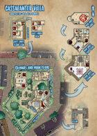 Waterdeep: Dragon Heist - Cassalanter Villa Map (Mike Schley Style)