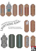 Eberron Battlemaps - Lightning Rail