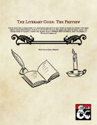 The Literary Gods: Preview