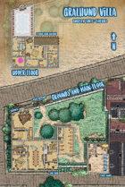 Waterdeep: Dragon Heist - Gralhund Villa Map (Mike Schley Style)