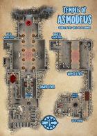 Waterdeep: Dragon Heist - Temple of Asmodeus Map (Mike Schley Style)