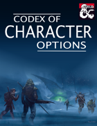 Codex of Character Options [BUNDLE]