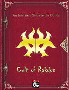 An Initiate's Guide to the Guilds - Cult of Rakdos