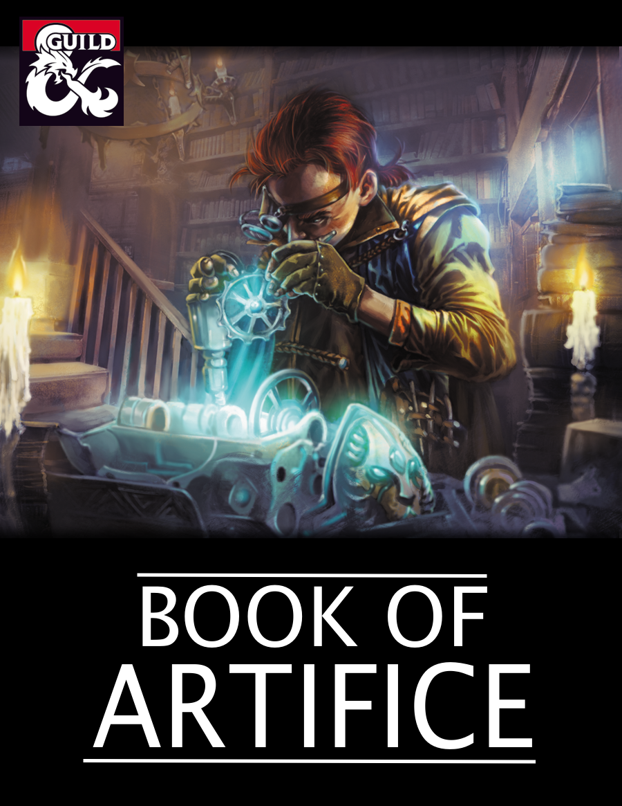 Book of Artifice (5e Artificer Subclasses) - Dungeon Masters