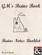 DM Ruins Book