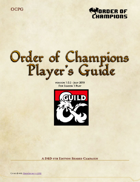 Order of Champions Campaign Documentation