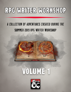RPG Writer Workshop Vol. 1 [BUNDLE]